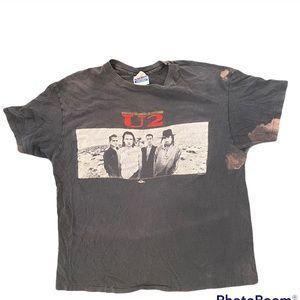 Authentic vintage U2 concert shirt